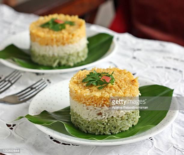tiranga chawal - panjim stock photos and pictures