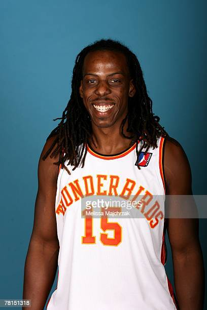 Tiras Wade of the Albuquerque Thunderbirds poses for a portrait during DLeague media day on November 13 2007 at the Open Court in Lehi Utah NOTE TO...