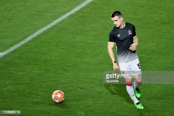 Tiraspol , Moldova - 24 September 2020; Darragh Leahy of Dundalk prior to the UEFA Europa League Third Qualifying Round match between FC Sheriff...