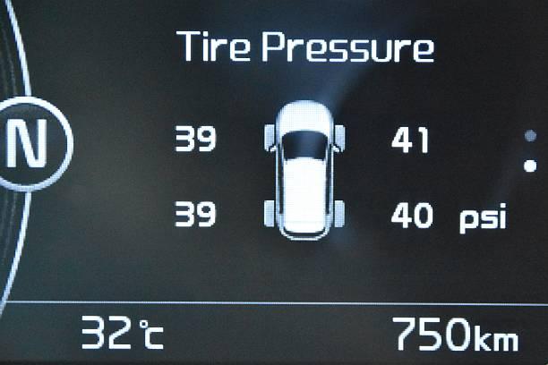 indikator tekanan ban