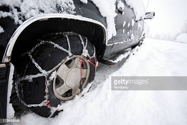 Tire Chains, What All The Fashionable Vehicles Are Wearing