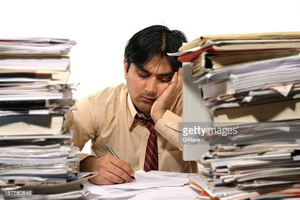 Tired Clerk 3