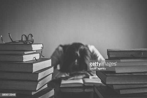 Fatigué d'étudiant