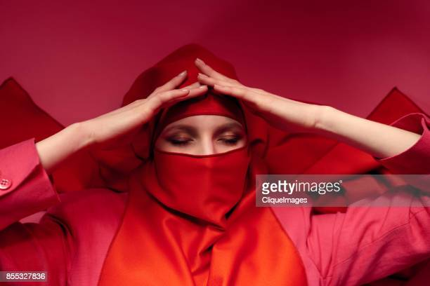 tired woman in niqab - cliqueimages stock pictures, royalty-free photos & images