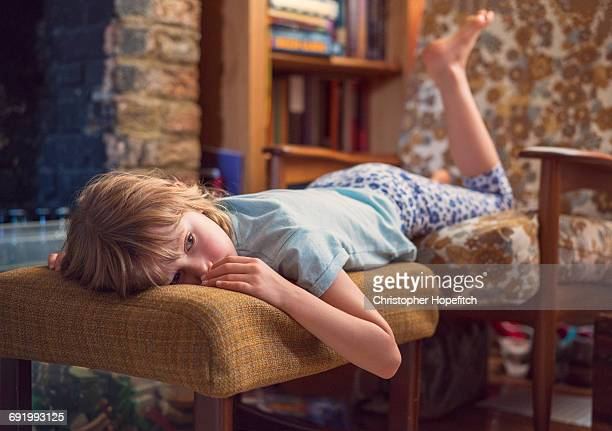 tired young girl - wasting time stock pictures, royalty-free photos & images
