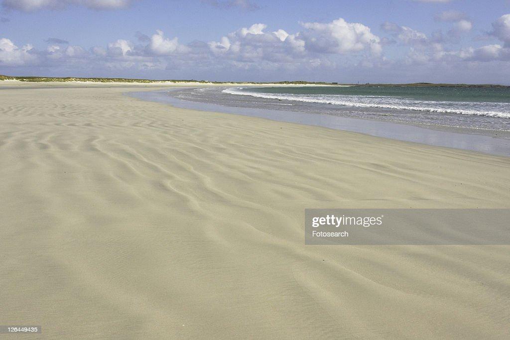 Tiree Landscape Soroby Beach Argyll Scotland Uk Stock Photo