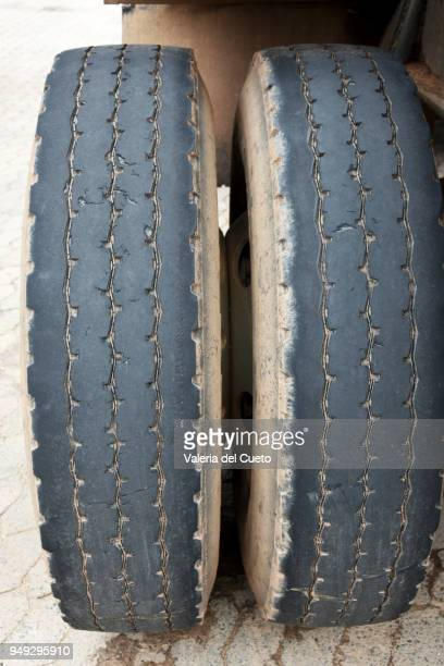 Tires spent on the road, round life