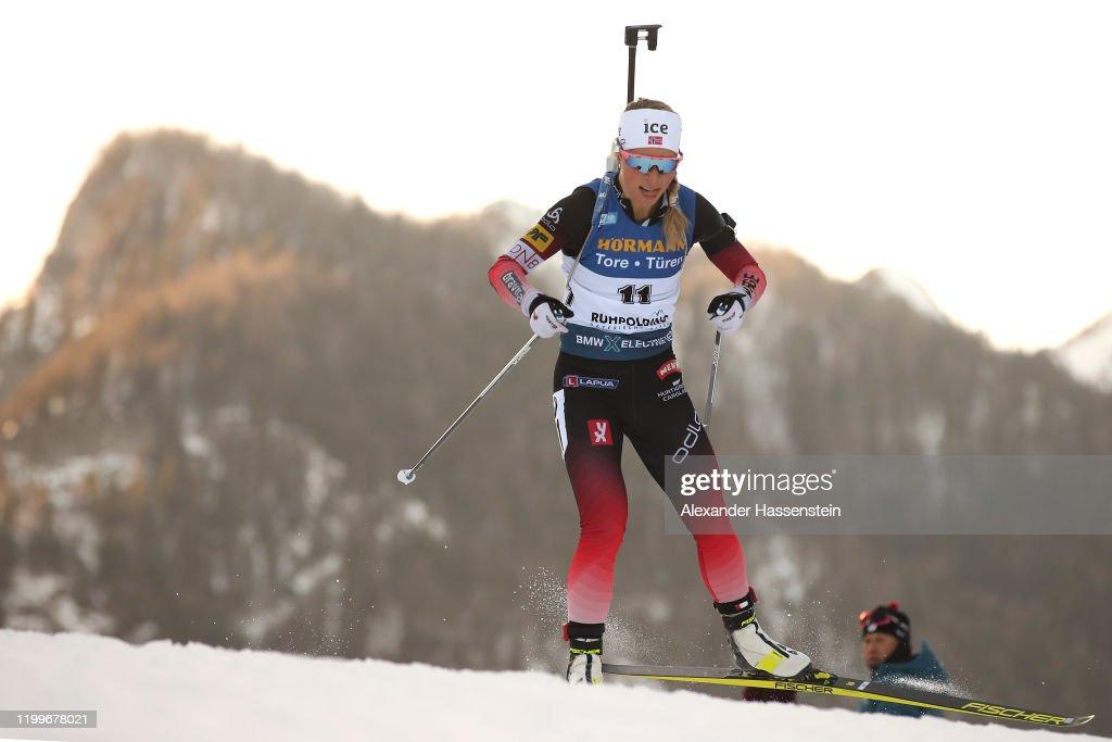 BMW IBU World Cup Biathlon Ruhpolding - Women 7.5 km Sprint Competition : Photo d'actualité