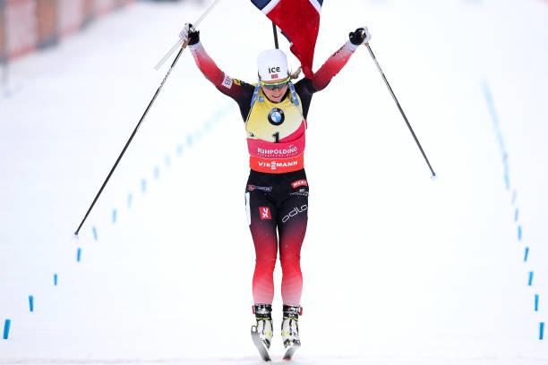 DEU: BMW IBU World Cup Biathlon Ruhpolding - Women 10 km Pursuit Competition
