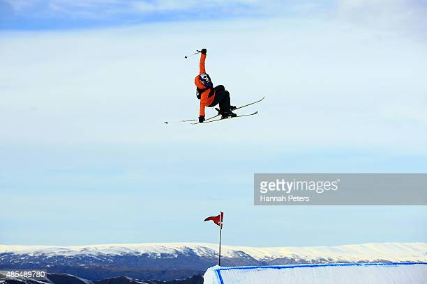 Tiril Sjaastad Christiansen of Norway competes in the FIS Freestyle Ski World Cup Slopestyle Finals during the Winter Games NZ at Cardrona Alpine...