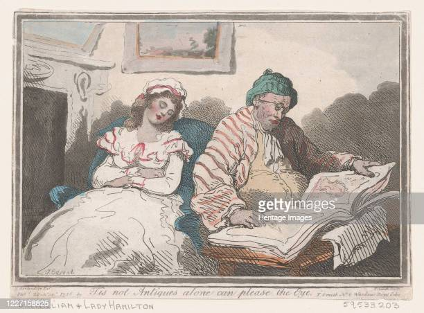 Tis not Antiques Alone can Please the Eye or Tastes Differ November 20 1786 Artist Thomas Rowlandson