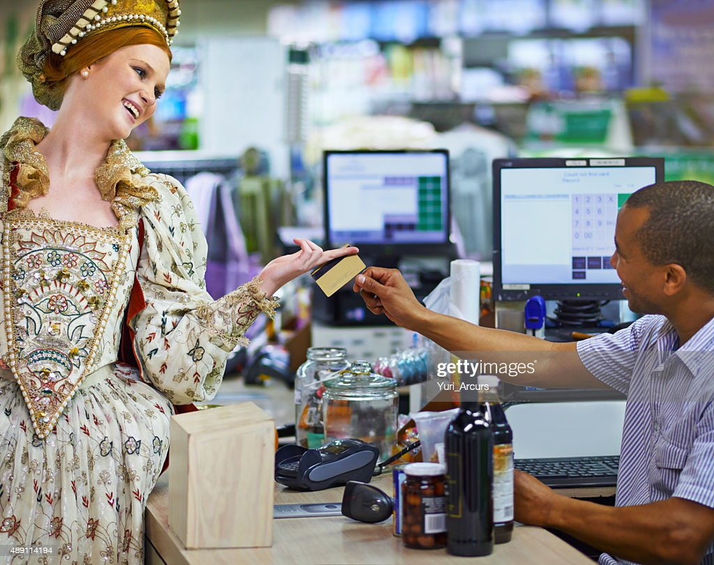 Tis so much easier than carrying gold! : Stock Photo