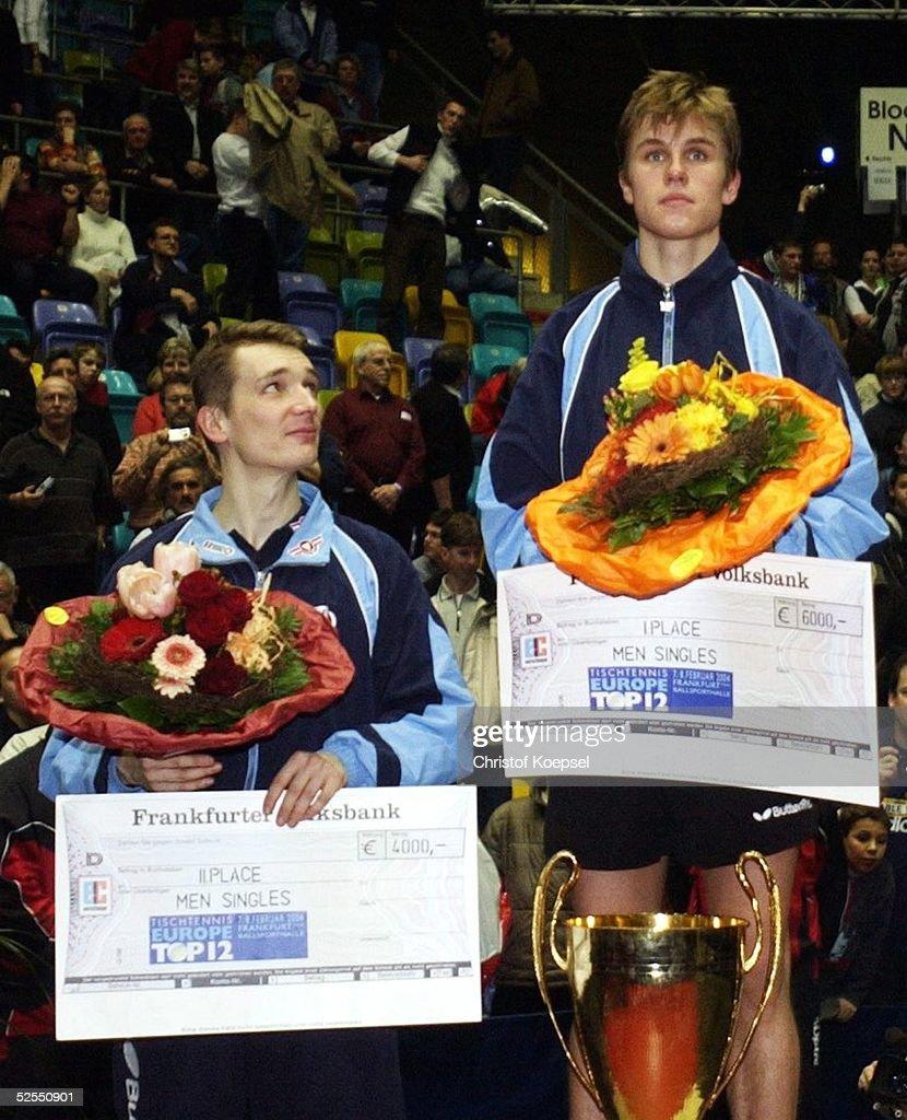 Tischtennis: Europe Top 12 : News Photo