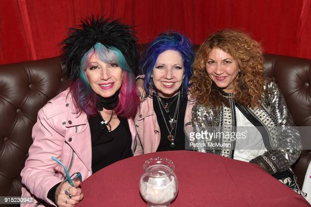 Tish Bellomo Snooky Bellomo and Brigitte Segura attend the Nick Graham Performance February 2018 Mens' New York Fashion Week at The McKittrick Hotel...