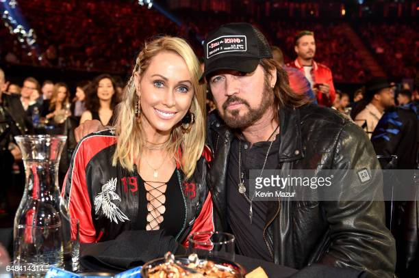 Tish Cyrus and singersongwriter Billy Ray Cyrus attend the 2017 iHeartRadio Music Awards which broadcast live on Turner's TBS TNT and truTV at The...