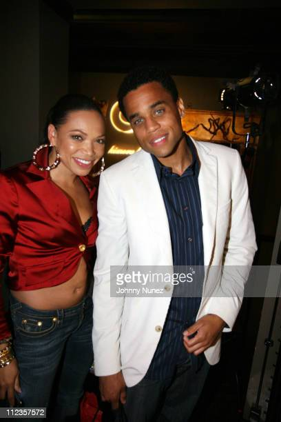 Tisha Campbell and Michael Ealy during Kimora Lee Simmons Presents KLS Fall 2007 Collection Inside at Social Hollywood in Los Angeles California...