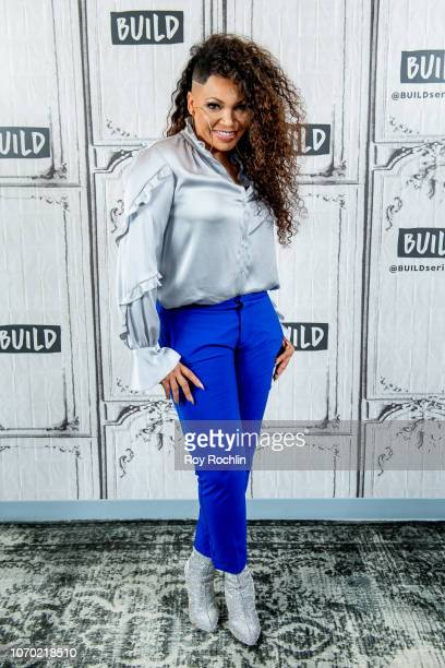 """Tisha Campbell discusses """"The Neighborhood"""" with the Build Series at Build Studio on November 20, 2018 in New York City."""