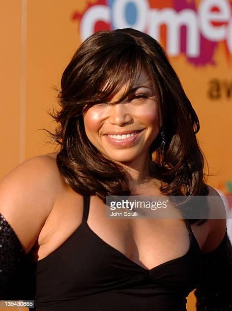 Tisha Campbell during 2005 BET Comedy Awards - Arrivals at Pasadena Historic Civic Center in Pasadena, California, United States.