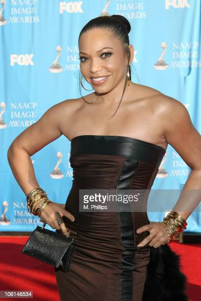 Tisha Campbell during 38th Annual NAACP Image Awards - Arrivals at Shrine Auditorium in Los Angeles, California, United States.