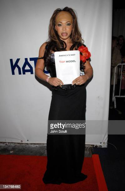 Tisha Campbell during 7th Annual Heidi Klum Halloween Party, Sponsored by M&M's Dark Chocolate - Red Carpet and Inside at SBE's Privilege in...