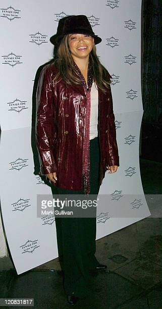 Tisha Campbell during Howard Fine's Winter Wonderful Holiday Party at Boardner's in Hollywood, California, United States.