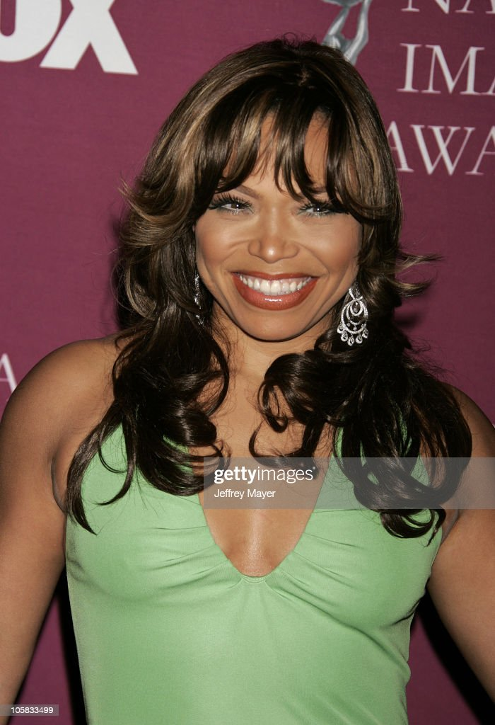 Tisha Campbell during The 36th Annual NAACP Image Awards - Arrivals at Dorothy Chandler Pavilion in Los Angeles, California, United States.