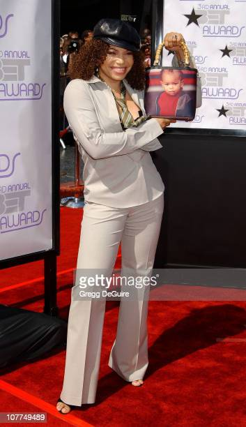 Tisha Campbell during The 3rd Annual BET Awards Arrivals at The Kodak Theater in Hollywood California United States