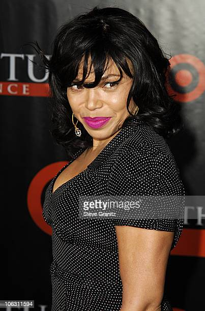 """Tisha Campbell during """"The Seat Filler"""" Los Angeles Premiere - Arrivals at El Capitan Theatre in Hollywood, California, United States."""