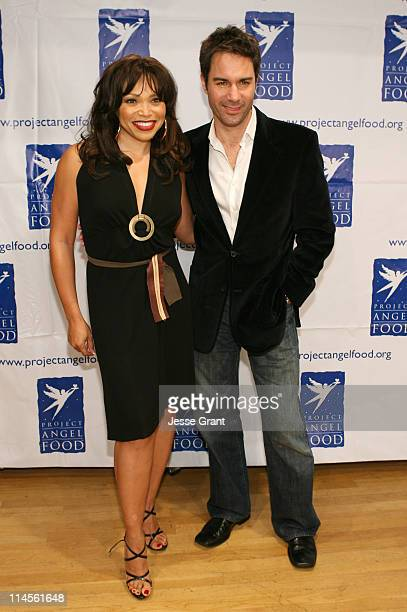 """Tisha Campbell Martin and Eric McCormack during """"inCONCERT"""" Benefit for Project Angel Food at Howard Fine Theater in Hollywood, California, United..."""