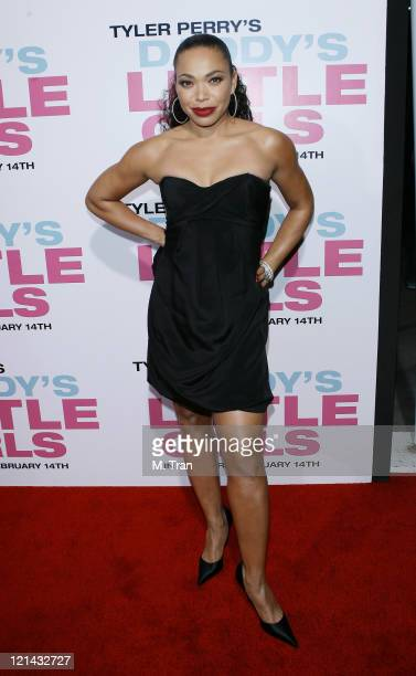 Tisha Campbell Martin during Daddy's Little Girls Los Angeles Premiere Arrivals at Cinerama Dome in Hollywood California United States