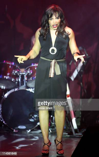 Tisha Campbell Martin during inCONCERT Benefit for Project Angel Food at Howard Fine Theater in Hollywood California United States