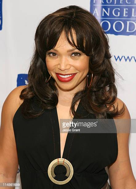 """Tisha Campbell Martin during """"inCONCERT"""" Benefit for Project Angel Food at Howard Fine Theater in Hollywood, California, United States."""