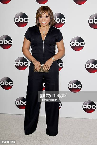 Tisha Campbell-Martin attends the Disney/ABC 2016 Winter TCA Tour at Langham Hotel on January 9, 2016 in Pasadena, California.
