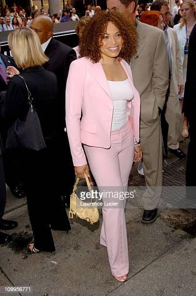 Tisha CampbellMartin during ABC 2004/2005 Primetime Upfront Arrivals at Cipriani's in New York City New York United States