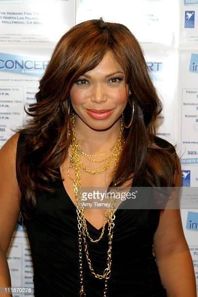 Tisha CampbellMartin during inCONCERT Benefiting Project Angel Food November 12 2005 in Los Angeles California United States