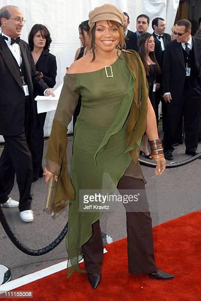 Tisha CampbellMartin during The 30th Annual American Music Awards Arrivals at Shrine Auditorium in Los Angeles California United States