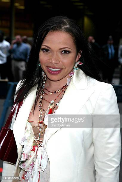 """Tisha Campbell-Martin of ABC's """"My Wife and Kids"""" during ABC Upfront 2002-2003 Season at Cipriani's 42nd Street in New York City, New York, United..."""