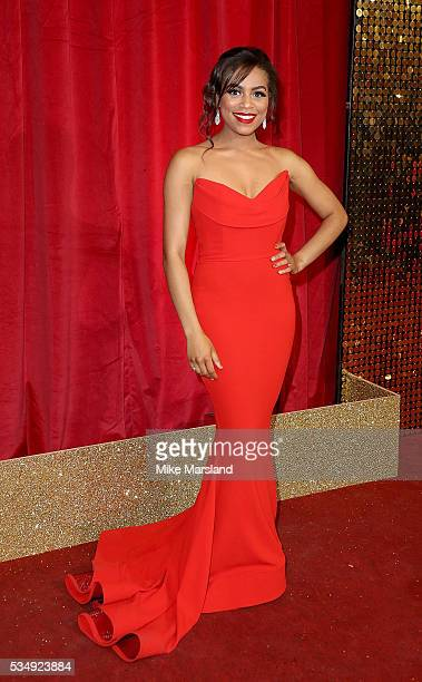 Tisha Merry attends the British Soap Awards 2016 at Hackney Empire on May 28 2016 in London England