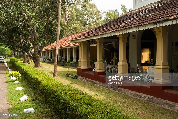 tissawewa rest house - sri lankan culture stock pictures, royalty-free photos & images