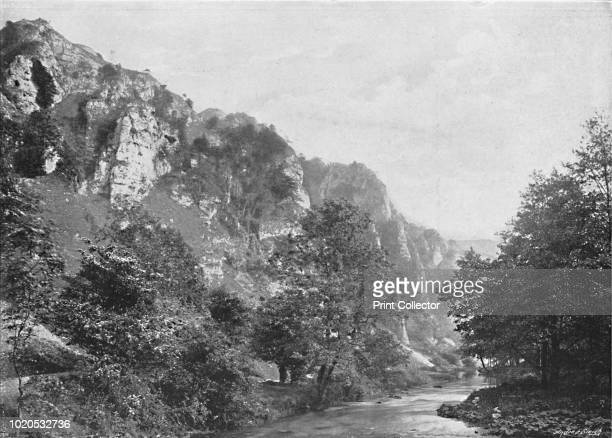 Tissington Sires Dovedale' circa 1896 From Pictorial England and Wales [Cassell and Company Limited London Paris Melbourne circa 1896] Artist GW...