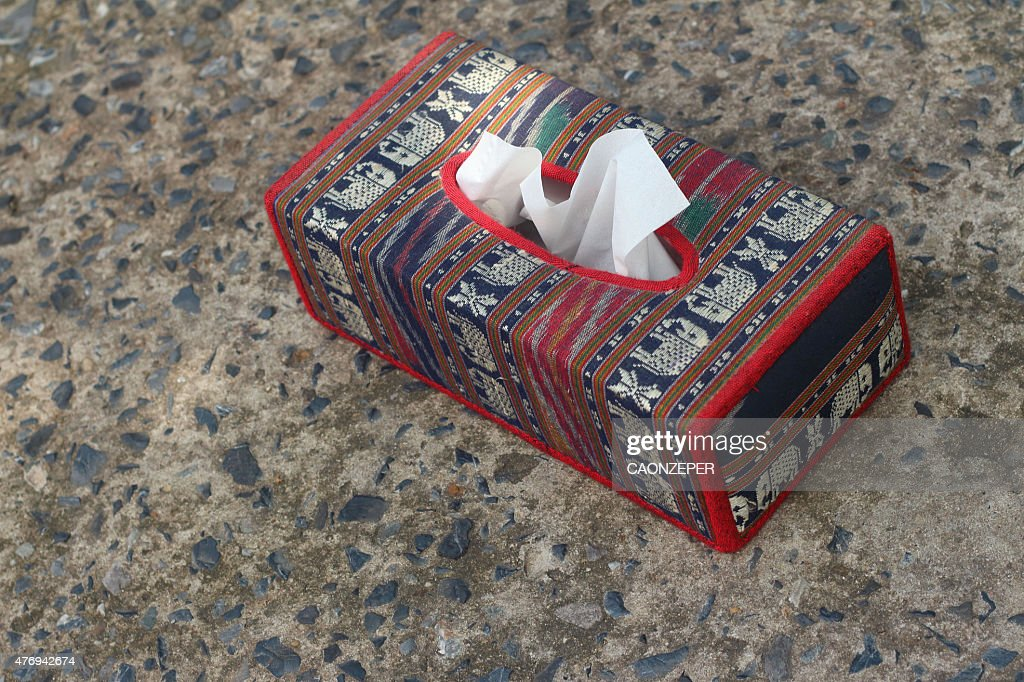 Tissue Box Elephant Is The Symbol Of Thailand Stock Photo Getty Images