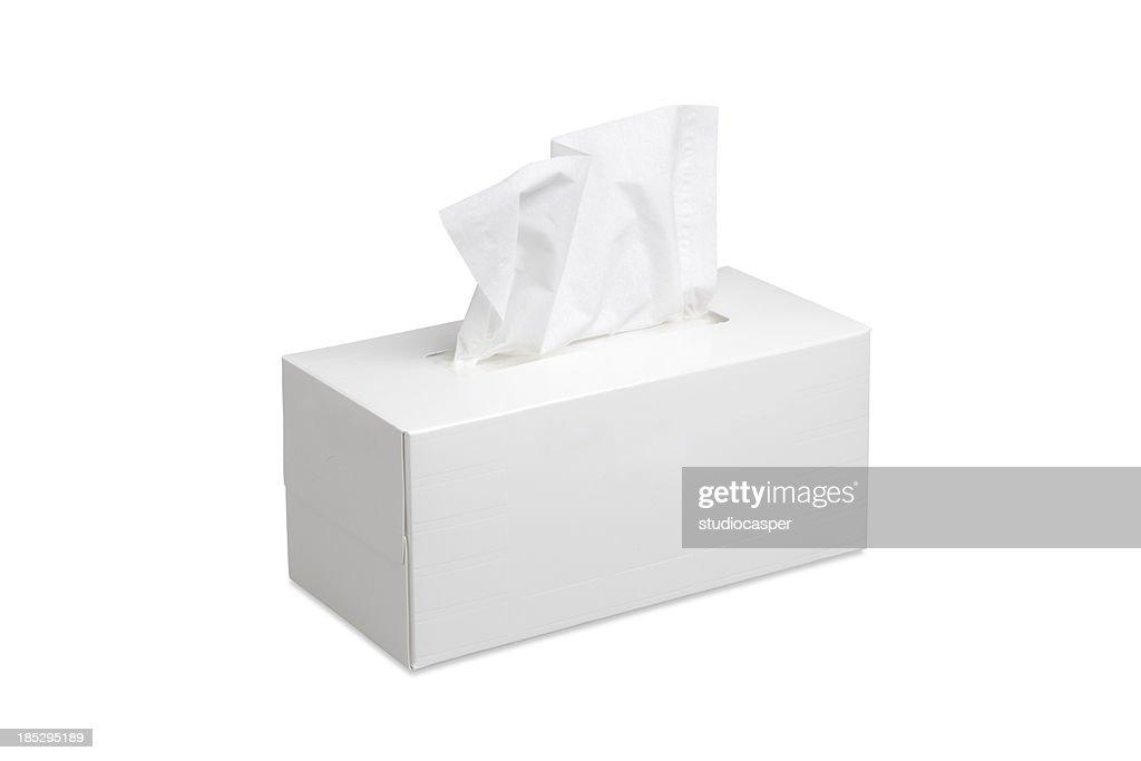 Tissue Box : Stock Photo