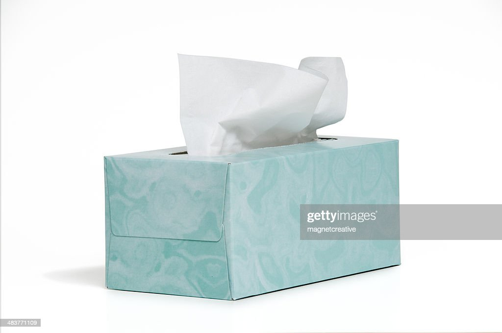 Tissue Box : Stock Photo