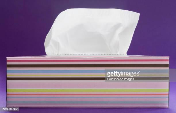 tissue box - ティッシュ ストックフォトと画像