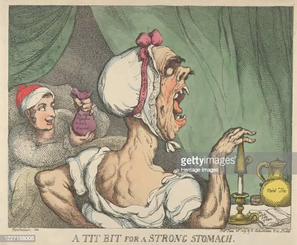 Tit Bit for a Strong Stomach, June 20, 1809. Artist Thomas Rowlandson.