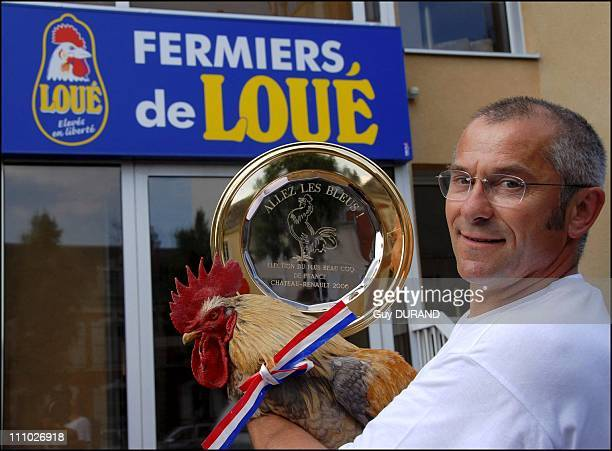 P'tit Claude elected the most beautiful little cock and mascot for the Blues in France on June 05th 2006 Proud and happy Michel Huon vice president...