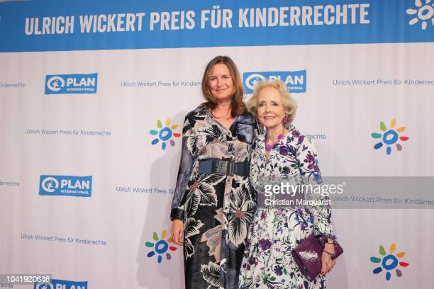 Tita and Isa von Hardenberg attends the Ulrich Wickert and Peter SchollLatour award at Bar jeder Vernunft on September 27 2018 in Berlin Germany