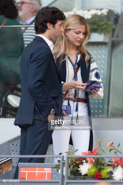 Tita Astolfi is seen attending the Mutua Madrid Open tennis tournament at the Caja Magica on May 10 2018 in Madrid Spain