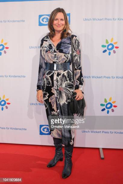 Tita von Hadenberg attends the Ulrich Wickert and Peter SchollLatour award at Bar jeder Vernunft on September 27 2018 in Berlin Germany