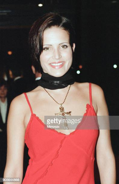 Titanic 1997 film premiere at the Empire in Leicester Square London Tuesday 18th November 1997 Our picture shows model Sophie Anderton